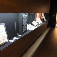 Vetrina documenti Archivio Capitolare della Cattedrale di Adria