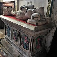 3.  The Grave of Sir Goddard Oxenbridge (The Brede Giant),  The Parish Church of St George, Brede, East Sussex