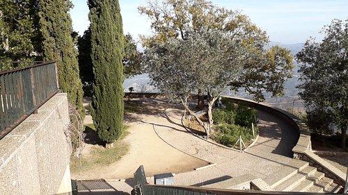 Zona de los Requetes donde se halla la Escalera al Paraíso, también llamada Escalera del Entendimiento o Escalera al Cielo