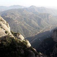 Vistas desde Montserrat