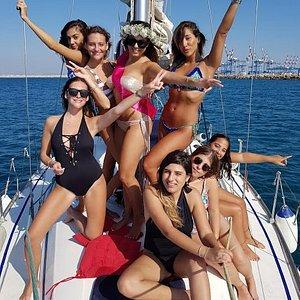 מסיבת יום הולדת,מסיבת רווקות ביאכטה קשת ים