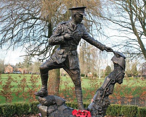 Wilfred Owen MC Statue