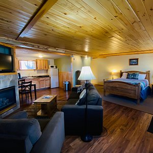 Interior photo of the cottages we offer.