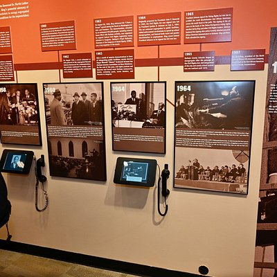"""MoDH's current rotating exhibit """"A Creative Protest: MLK Comes to Durham"""" honors the legacy of Dr. Martin Luther King, Jr. and the Durham Civil Rights Movement."""