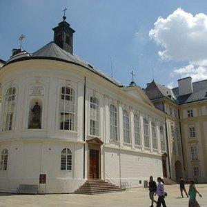 La cappella che ospita il Tesoro di San Vito