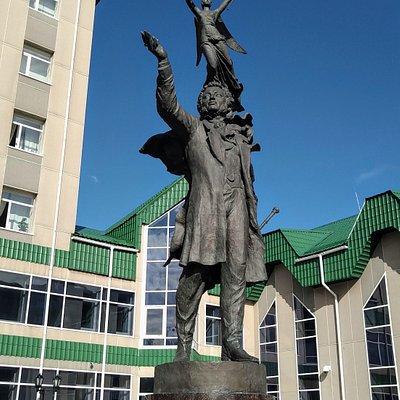 Памятник А. С. Пушкину, Сургут.