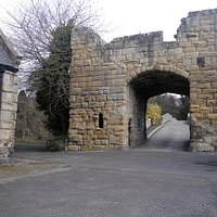 Warkworth Old Bridge Gate