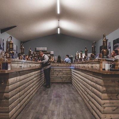 Neil Harrison founder of Nelson's Distillery & School teaching a full Gin & Vodka School!