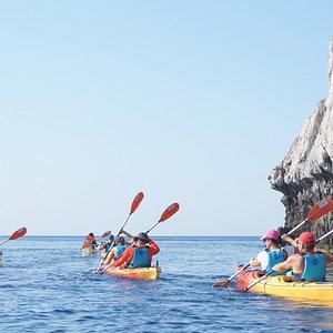 Sea Kayaking - paddling across the East Coast