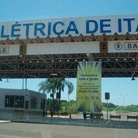 Centro de recepción Itaipu