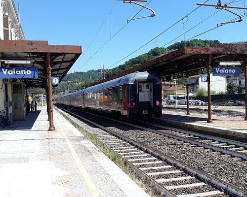 treno in sosta