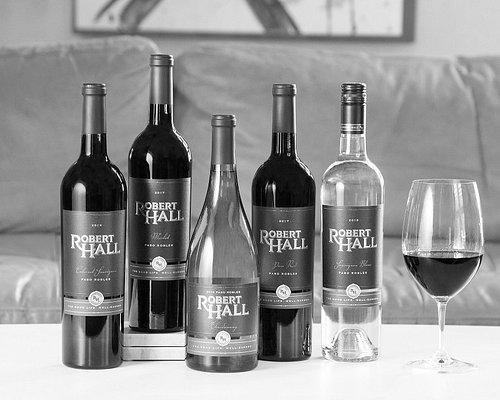 Robert Hall core wine include: Merlot, Cabernet Sauvignon, Paso Red Blend, Chardonnay and Sauvignon Blanc
