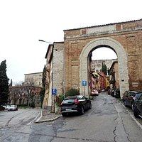 Porta Eburnea, Perugia