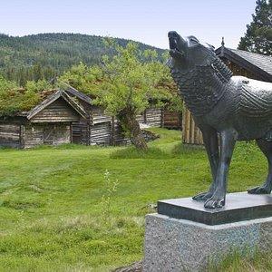 The Grimdalen farm.