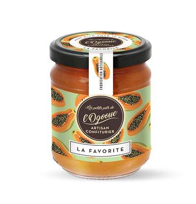 Délicieuse confiture a la papaye