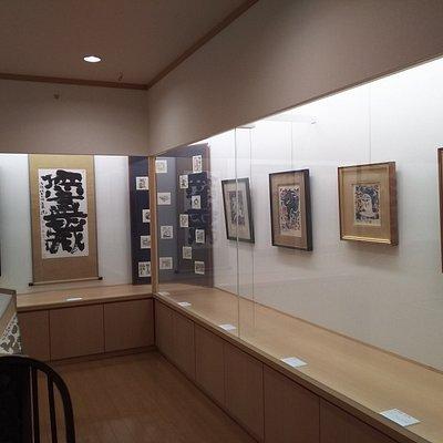 展示室の版画