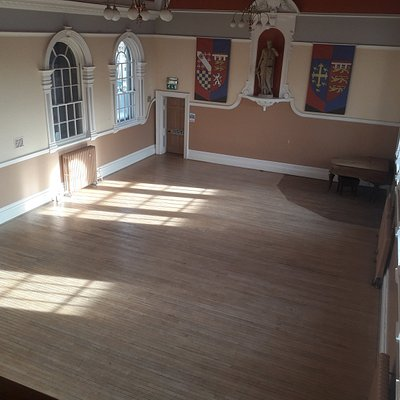 The Large Court within The Guildhall, available for hire.