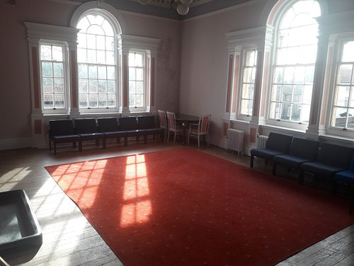 The Council Chamber within The Guildhall, available for hire.