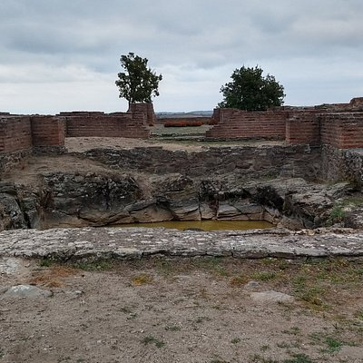 Justiniana Prima are remains of a Roman city located in an isolated place in Southern Serbia.