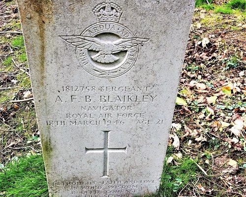 10.  Commonwealth War Graves, St Bartholomew's Church, Burwash, East Sussex