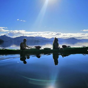 The Queen Charlotte Sound offers some of the best sea kayaking in New Zealand.