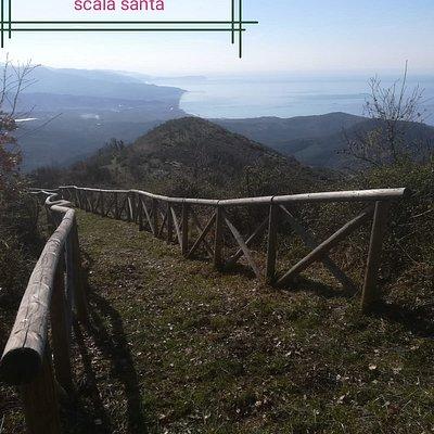 Sentiero Scala Santa Montestella Stella Cilento SA