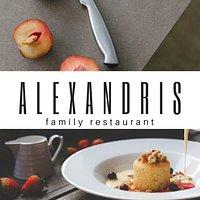 Alexandris restaurant logo