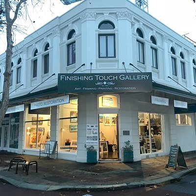 OPEN 27 years now in the West End of Fremantle, supporting 42 local Artists, large format printing, photo restoration and scanning services, picture framing, hanging systems 7 days a week.
