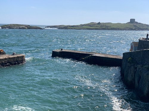 Ireland at its best. Beautiful little harbour on Coliemore Road in Dalkey. Amazing on a sunny day and equally memorable on a wild winter stormy day.