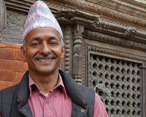 Ram Prasad Kadel, founder of the Museum