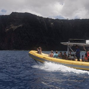 A guided tour of Lanai from the water!
