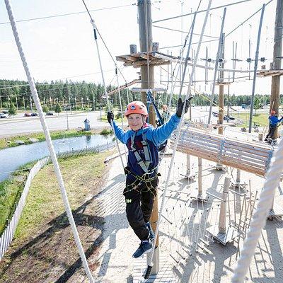 Levi Adventure Park Adventure Courses