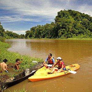 Tour en Kayak por Tortuguero