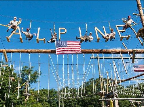 Thrillsville Aerial Challenge Course