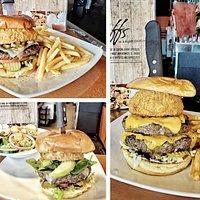 Southwest Burger, California Burger, Pounder Burger