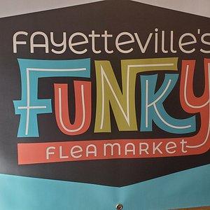 Fayetteville's funky fleamarket