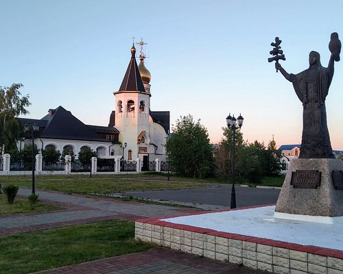 Памятник Югорской берегине, Югорск.