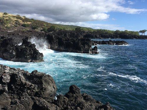 Mamalahoa Kona Heritage Corridor  Lekeleke Burial Ground Île d'Hawaï, Hawaï