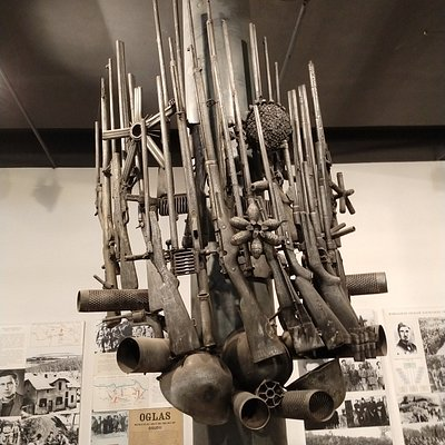 In this City Museum, you can see some Contemporary Art and a exposition about the 1st World War.