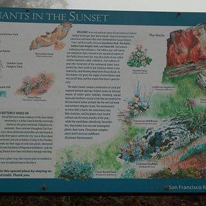 Information panel near Grandview Park
