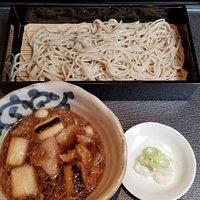 こがし葱肉汁そば(一合)(800円)