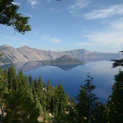 il lago nel cratere