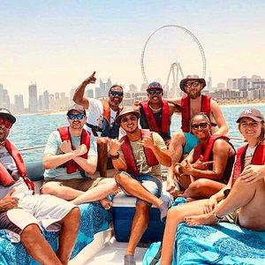Fishing trips in Dubai by Go fishing Dubai.