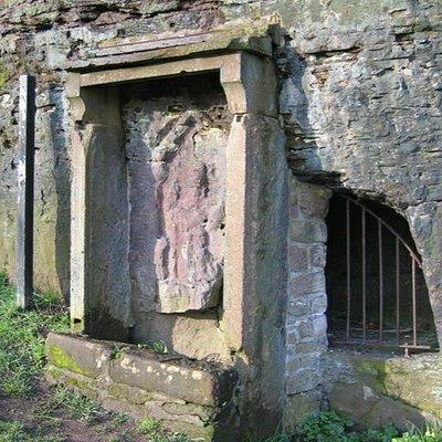 Minerva Shrine in Edgar's Field.