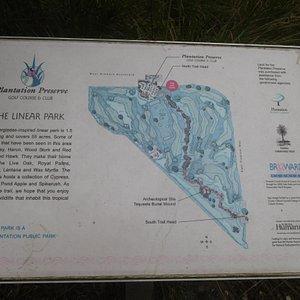 Linear Park Map