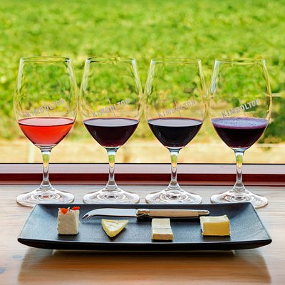 Carefully crafted wine & cheese flights are on offer at Kimbolton Wines. 4 local artisan cheeses have been carefully paired with  4 Kimbolton wines. Pairings change seasonally.