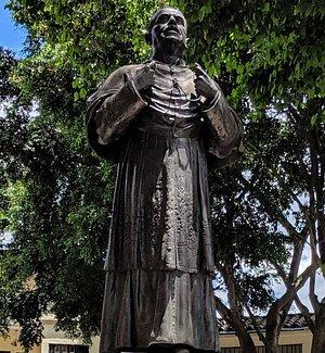 Statue of Manuel Jose Cayzedo.