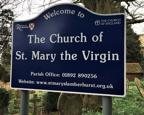 1.  Commonwealth War Graves, The Church of Mary the Virgin, Lamberhurst, Kent