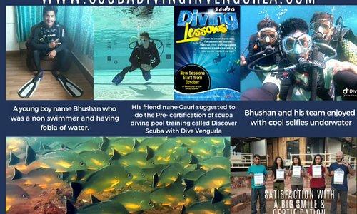 Tarkarli scuba diving with Dive Vengurla
