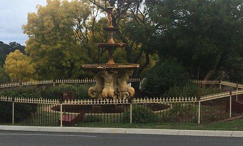 Also known as Queen Victoria Fountain